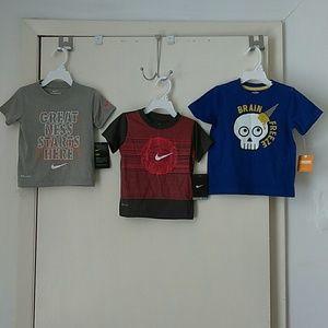 Nike & Gymboree 2T Toddler Boys Shirts Bundle